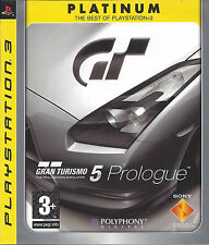 GRAN TURISMO 5 PROLOGUE for Playstation 3 PS3 - Platinum