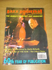 JAZZ JOURNAL INTERNATIONAL VOL 60 #3 2007 MARCH ED METZ JR JIMMY CHEATHAM