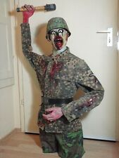 Cool German Soldier Zombie, Torso, lifesize, Horror Prop, Halloween, Unikat
