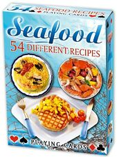 Seafood Recipes set of 52 playing cards (ix)
