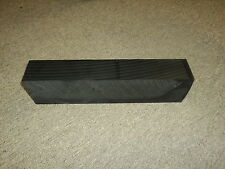 CNC Mill material Plastic black ABS sheet lot (2 pieces)   #20