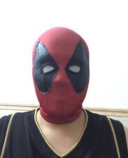 Deadpool Spandex Balaclava X-man Mask Hood Halloween Cosplay Costume Headwear