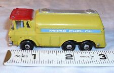 MARX MINI FUEL OIL TRUCK BATTERY TOY 1960s!