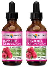 Raspberry Ketones Lean Liquid - Fat Burner Drops - Weight Loss - 2B