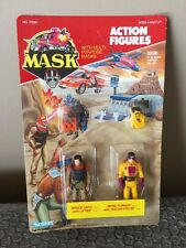 VINTAGE 1986 - KENNER - MASK - ACTION FIGURE BRUCE SATO BRAD TURNER -rare-Sealed