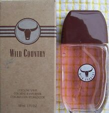 Avon Wild Country Men's Eau de Cologne full size 3 fl. oz spray bottle.   L@@K