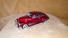 1/24 SCALE  DIE CAST MOTOR MAX 1948 CHEVY AEROSEDAN FLEETLINE 2 DOOR  RED