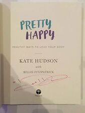 Kate Hudson AUTOGRAPHED book-Pretty Happy