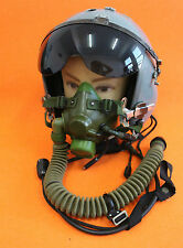 MIG-29  Flight Helmet Air Force Pilot Helmet  OXYGEN MASK YM-6G  SIZE:1# XXL