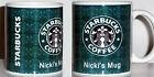 STARBUCKS PERSONALISED MUG cup tea coffee Printed Mug YOUR NAME Birthday Gift