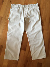 Craftsman White Twill Work Pant With Teflon Fabric Protector Sz 42x30 NWT