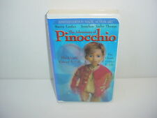 The Adventures Of Pinocchio VHS Video Tape Movie Clamshell