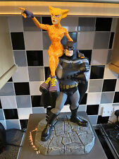 DC DIRECT LIMITED EDITION BATMAN THE DARK KNIGHT & CATGIRL FIGURE FRANK MILLER