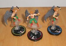 HERO CLIX - DC  HYPERTIME - HAWKMAN  - FIGURE SET   R,E,V  - WITHOUT CARDS