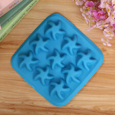 Lovely DIY Starfish Cake Mold Soap Flexible Silicone Mould For Chocolate Cake L