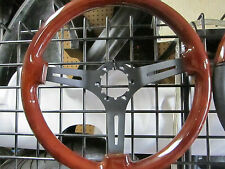 FIAT 124 SPIDER, PININFARINA 2000, 131, WOOD STEERING WHEEL, 350MM, BLACK SPOKES