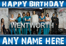 WENTWORTH PRISON 3 NEW Personalised Birthday Card  ANY NAME / AGE / A5 SIZE!