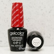 OPI GelColor Brazil Glamazons Collection 2014 - RED HOT RIO GC A70   Ship in 24H
