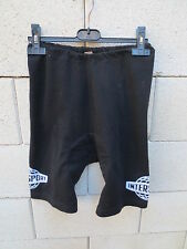 VINTAGE Cuissard cycliste INTERSPORT année 70 cycling short 2 S made in France