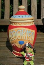 POCKET DRAGONS COOKIE JAR & COOKIE PIRATE boxed,leaflets