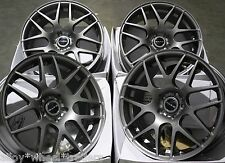 "18"" GM DARE X2 ALLOY WHEELS FITS RENAULT VOLVO PEUGEOT MERCEDES BENZ 5X108 ONLY"