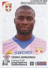 N°108 CEDRIC MONGONGU # CONGO EVIAN ETG STICKER PANINI FOOT 2013