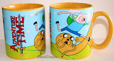 NEW Adventure Time with Finn and Jake Dog handle ONE Tea Coffee Cup Mug 20 OZ.