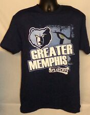 MEMPHIS GRIZZLIES MENS NBA BASKETBALL GREATER MEMPHIS JERSEY SHIRT LARGE TEE
