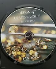 Authentic PANDORA Jewelry Design of and Craftsmanship In Store DVD