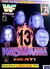 WWF WWE Magazin 4/97 1997 Wrestlemania 13 Wrestling
