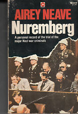 Nuremberg - PB 1980 - Airey Neave - WWII Nazi War Crimes Trials