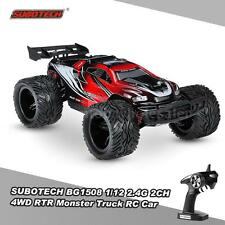 SUBOTECH BG1508 1/12 2.4G 2CH 4WD  Racing RTR Monster Truck RC Car E9Y3