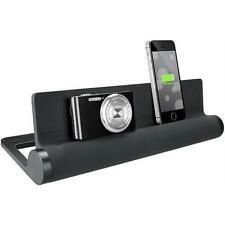 Quirky Converge Pop 4-Port USB Charging Station, Black