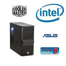 INTEL I7 3770K QUAD CORE UNLOCKED CPU ASUS H61 MOTHERBOARD 8GB RAM BAREBONES PC