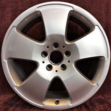 "OEM Used 18"" wheel 2007 Mercedes S550 S600 5 Spoke H# 65467 65466 65497 85019"
