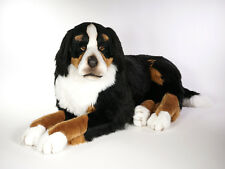 Bernese Mountain Dog by Piutre, Hand Made in Italy, Plush Stuffed Animal NWT