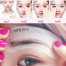 3 Style Eyebrow Grooming Stencil Kit Makeup Template Shaping Shaper DIY Tool