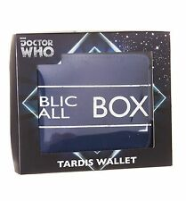 OFFICIAL DR WHO TARDIS WALLET 50TH ANNIVERSARY