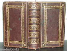PROPER LESSONS Morning Evening PRAYER New Testament HOLY BIBLE 1850 FULL LEATHER