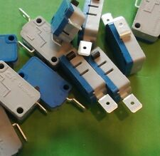 Micro Switch 21A SPST 250 Vac V3 N/c Microswitch tfchv 4VP005AW X 10 un. @ £ 0.10p