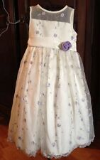 Cinderella Girls Sz. 4 Special Occasion. Formal Dress Flower Girl Wedding EUC!