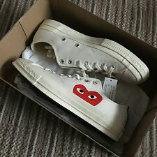 Comme des Garcons Play x Converse Chuck Taylor 1970's Brand New Boxed UK Size 10