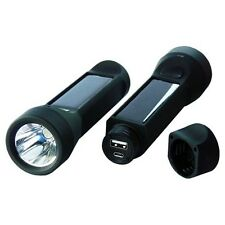 Solar Flashlight | Powerplus Salamander Waterproof 3W Solar Flashlight & Charger