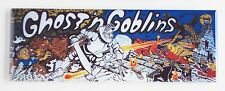 Ghosts N Goblins Marquee FRIDGE MAGNET (1.5 x 4.5 inches) arcade video game