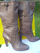 PRADA MILANO donna misura 7/40/BOTAS/grey靴子/BOTTES/sopogy/RRP £ 650