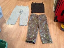3P DESIGNER CLOTHING LOT GIORGIO ARMANI PANTS GUCCI SKIRT SZ 14 WOMENS FABULOUS!