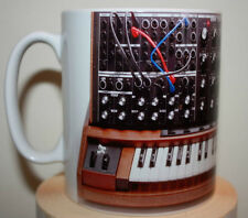Custom Moog Voyager XL keyboard synthesizer novelty mug