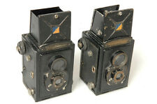 2X VOIGTLANDER TLR 6X6CM BRILLANT & BRILLIANT. FOR PARTS OR REPAIR.