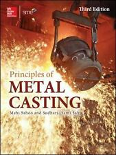 NEW Principles of Metal Casting by Mahi Sahoo & Sudhari Sahu - Hardcover Book