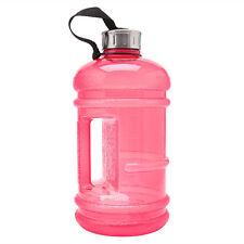 2.2L Big BPA Free Sport Gym Training Drink Water Bottle Cap Kettle Workout hot